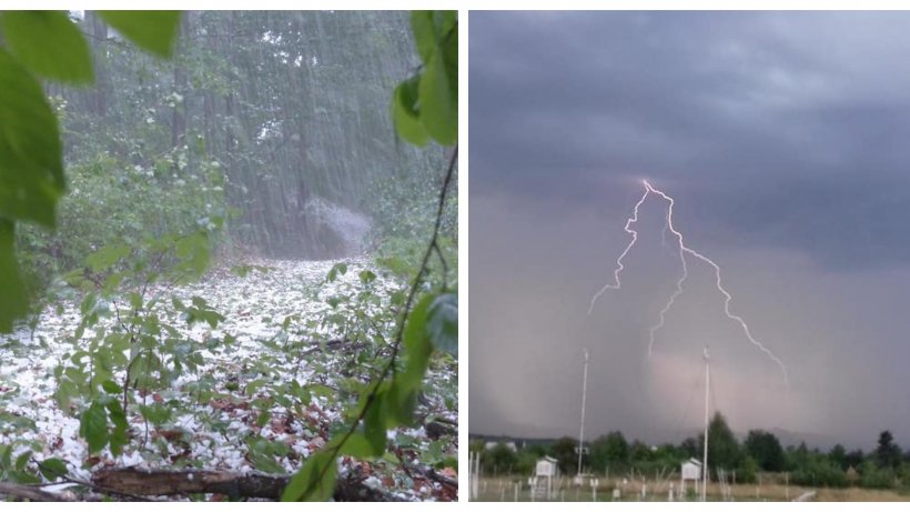 Ploile torenţiale şi furtunile au pus stăpânire pe vestul ţării! Meteorologii anunţă când se va îmbunătăţi vremea
