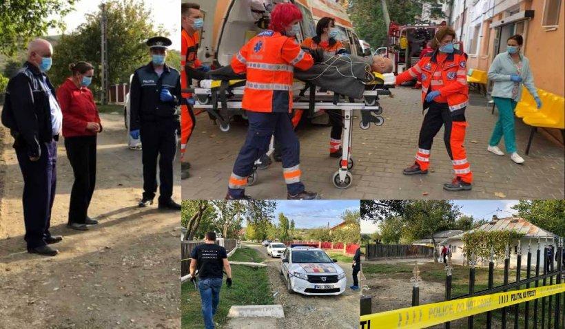O femeie din Botoșani și-a ucis soțul cu un cuțit în fața copiilor