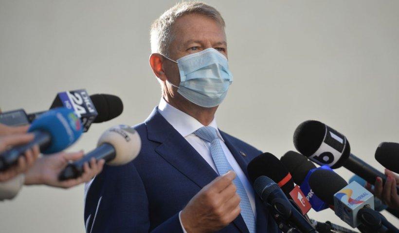 """Klaus Iohannis, conferință LIVE după recordul de cazuri de coronavirus: """"Restricțiile sunt inevitabile"""""""