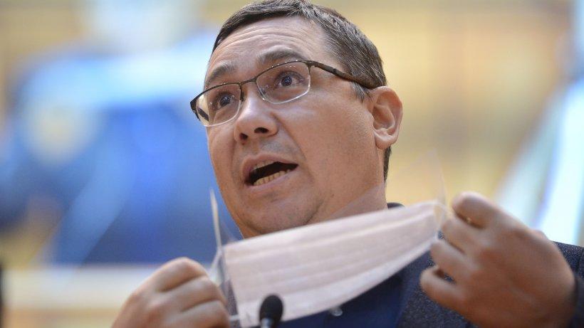 """Victor Ponta, răspuns la întrebarea """"de ce pierdem bătălia cu COVID-19"""". """"Nu pot fi trași la răspundere!"""""""