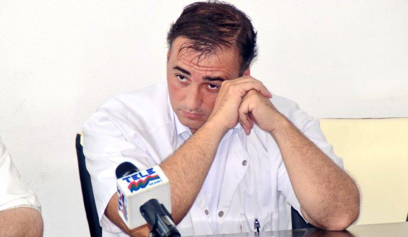 Directorul Spitalului din Piatra Neamț și-a anunțat demisia după ce pacienții erau testați pentru COVID afară, în frig