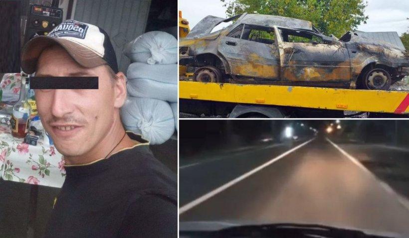 O fată de 18 ani a murit arsă de vie într-o mașină, după un live pe Facebook la 180 de km/h