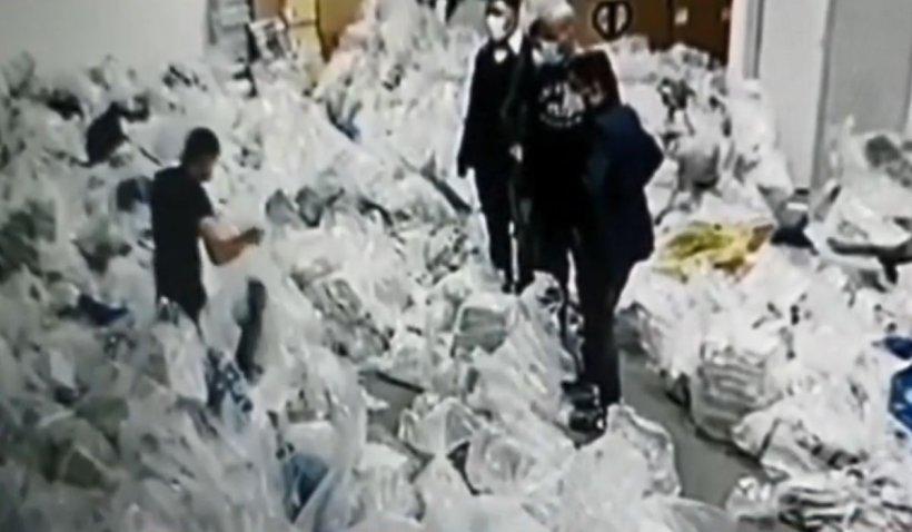 """Înregistrare explozivă din camera cu sacii cu voturi din Sectorul 1: """"Nu am văzut niciun sigiliu"""""""
