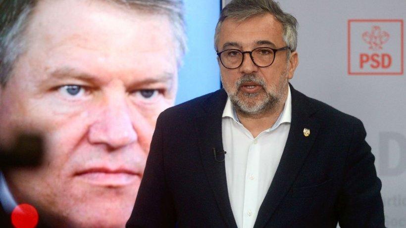 Replica lui Lucian Romașcanu după ce Iohannis a asemănat PSD cu pandemia de COVID-19