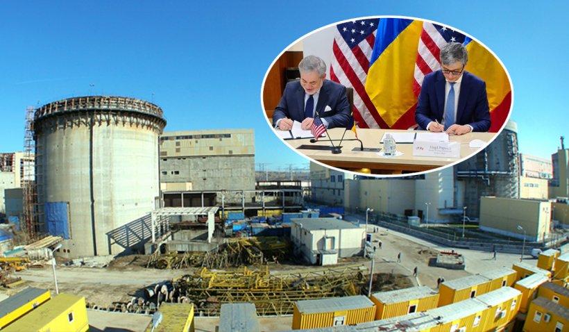 Pas uriaş făcut pentru construirea Reactoarelor 3 şi 4 de la Cernavodă. Ministrul Economiei a semnat acordul cu americanii