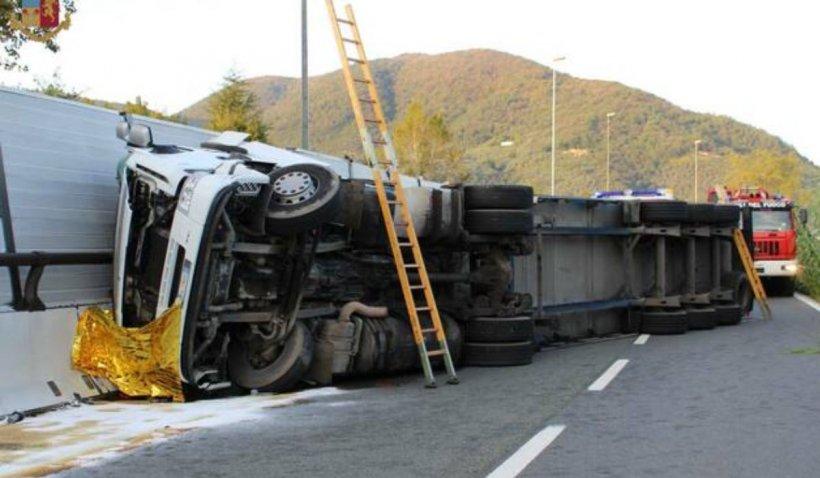 Un șofer român de TIR a plecat în ultima cursă, în Italia, și a lăsat în urmă o fetiță de doi ani