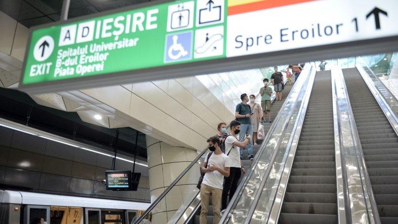 Anunţul important făcut de Metrorex! Călătorii nu vor mai avea acces în staţiile de metrou