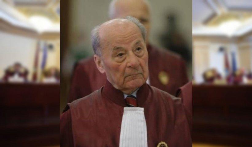 Ion Predescu, fost judecător al Curţii Constituţionale, a murit