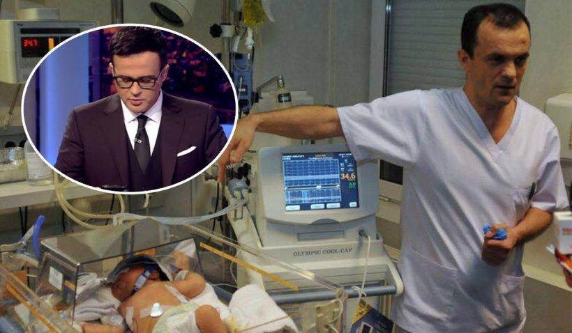 """Mesajul primit în direct de Mihai Gâdea de la medicul Cârstoveanu, după anunţul deceselor celor 30 de copii: """"Aţi reuşit, îmi vor da banii"""""""