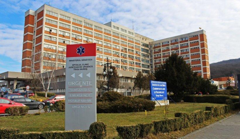 Spitalul Județean de Urgență Târgu Mureș sistează internările din cauza infecțiilor cu coronavirus