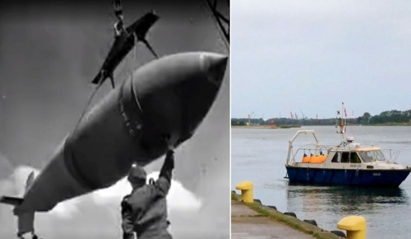 """Tensiune maximă. Pirotehniştii dezamorsează """"Bomba Cutremurului"""", menită să distrugă navele naziste"""