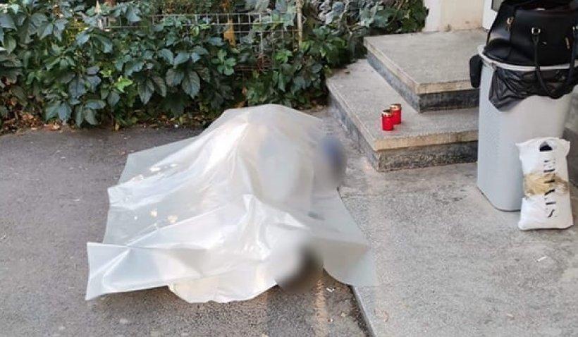 Trupul unui bărbat mort, lăsat ore întregi pe jos, în centrul oraşului Huși