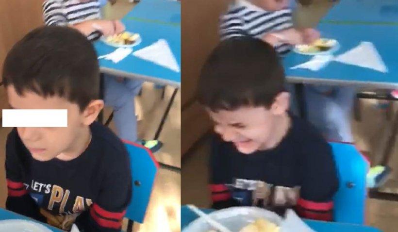 O educatoare de la o grădiniță din Fetești s-a filmat în timp ce lovește un copil
