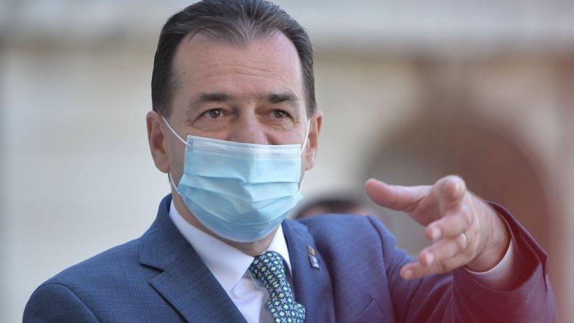 Premierul Orban anunţă prelungirea stării de alertă cu încă 30 de zile