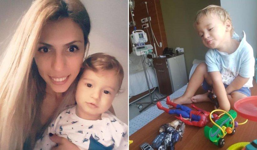 """Tavi, un băiețel din Constanța, are nevoie de ajutor după ce a primit un diagnostic crunt: """"Vreau să trăiesc!"""""""