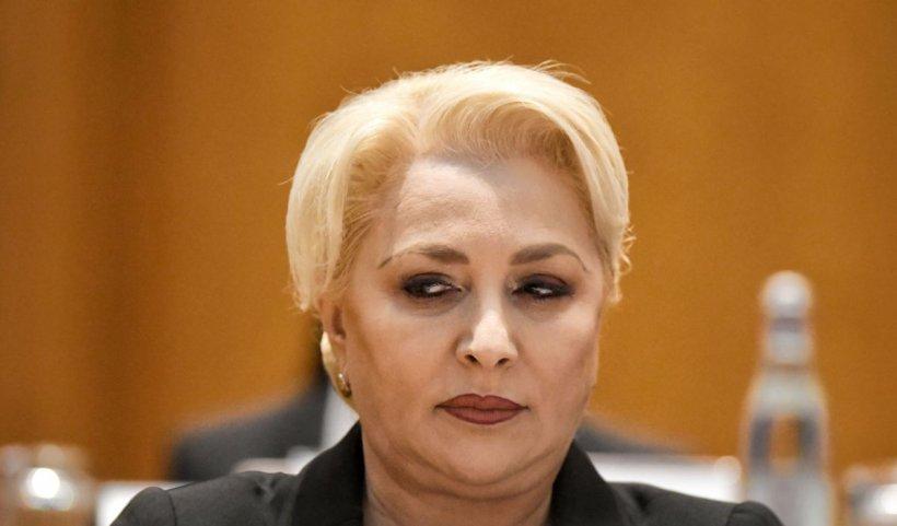Viorica Dăncilă: Nu a fost nicio percheziție la biroul soțului meu