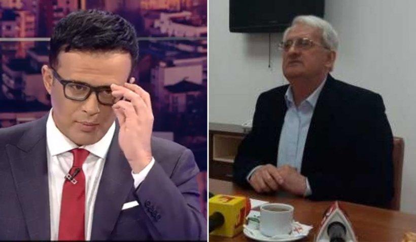 Mihai Gâdea i-a tăiat telefonul în direct primarului care înjura localnicii, după ce edilul a început să ţipe la el