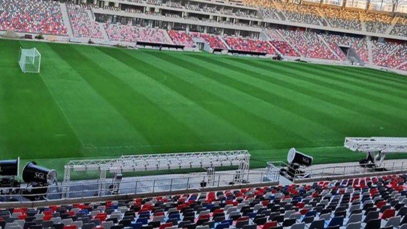 Imagini din interiorul stadionului Steaua. Cum arată acum ''bijuteria din Ghencea''