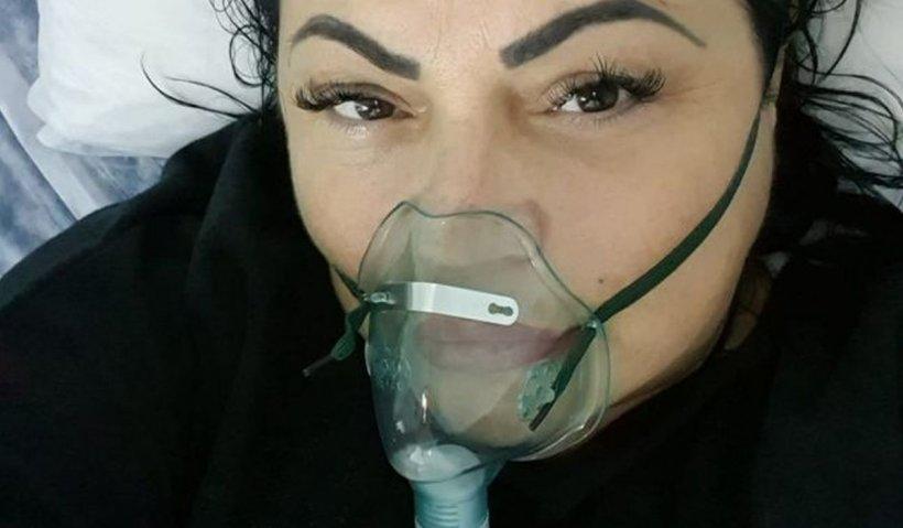 Bolnavă de COVID-19, cântăreaţa de la noi, apel disperat către un donator de plasmă