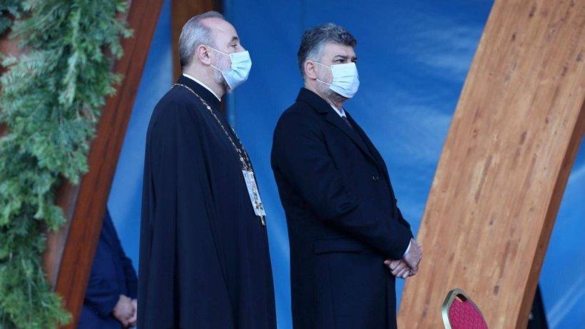 Ultima zi de pelerinaj de Sf. Dimitrie Cel Nou. Personalităţi politice la slujba de la Patriarhie