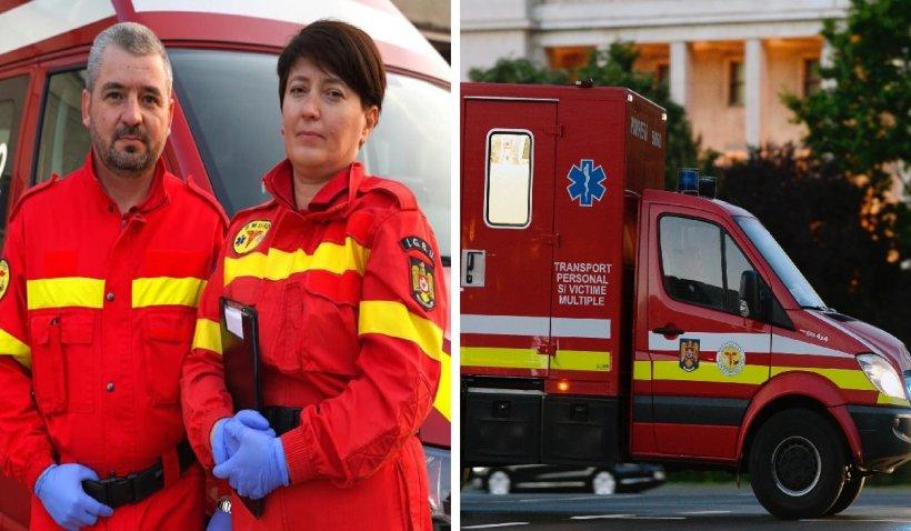 """Claudiu și Nicoleta, doi soți care lucrează voluntari la SMURD: """"Sunt fabuloși și merită din plin să fie cunoscuți"""""""