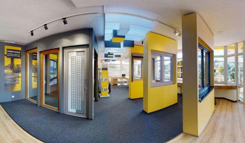 Primul showroom virtual de ferestre si usi din Transilvania