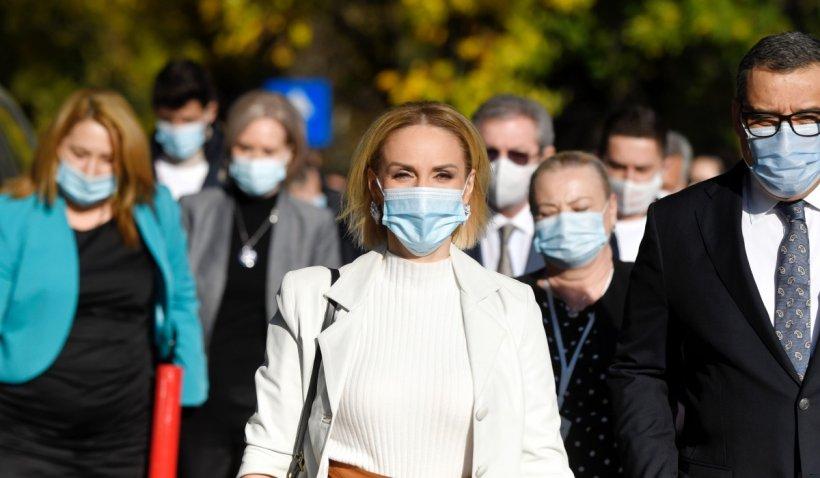Gabriela Firea: Politica de sănătate publică a actualului Guvern e scăparea de sub control a pandemiei