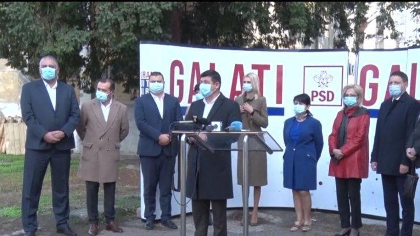 PSD Galați a prezentat lista candidaților la alegerile parlamentare