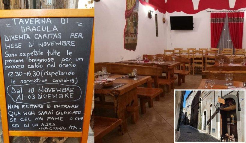 O româncă din Italia oferă mese gratuite persoanelor nevoiaşe afectate de criza COVID-19