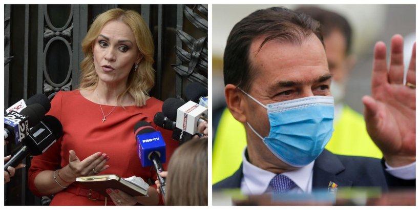 Firea: Avem deja doi miniștri cu COVID-19. Premierul ne-a spus că se îmbolnăvesc doar cei care nu respectă regulile