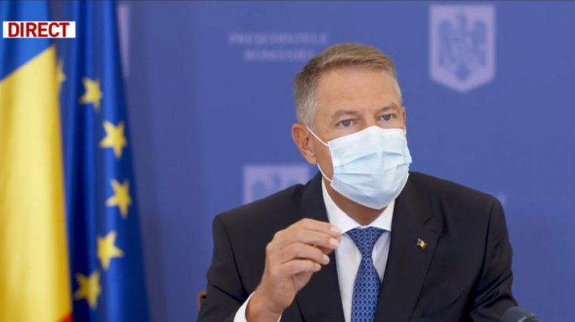 Iohannis, campanie electorală pentru PNL: În Parlament, PSD trage permanent frâna de mână