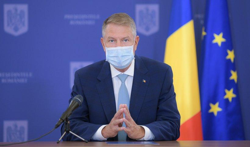 """Klaus Iohannis: """"Până nu vom avea un vaccin eficient, vom menţine măsurile restrictive severe"""""""