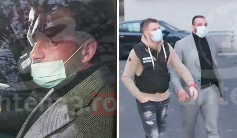 Alex Bodi, fostul soţ al Biancăi Drăguşanu, a fost reţinut pentru trafic de persoane şi şantaj. Imagini din timpul reţinerii