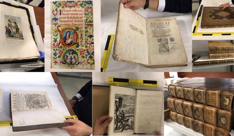 Cărți rare, evaluate la peste 3 milioane de dolari, furate din Londra de o bandă de hoți români, returnate proprietarilor