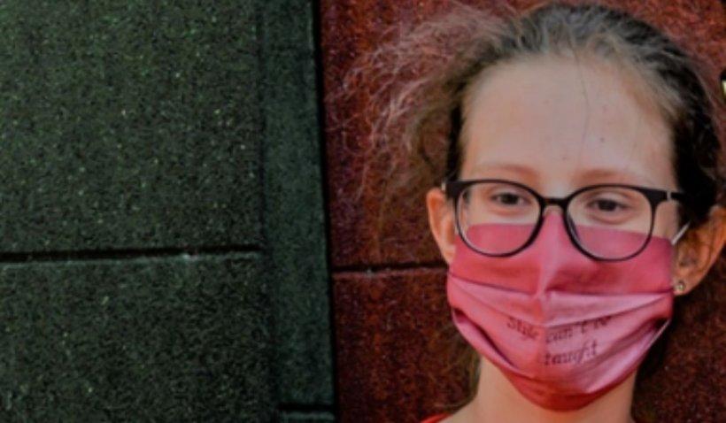 Loreema Maria Vlad, voluntar la Salvați Copiii: Este greu la început, dar apoi îți deschizi aripile