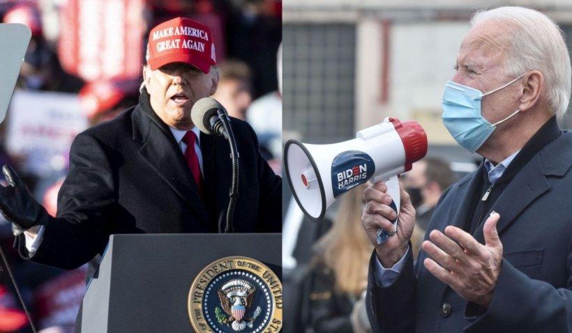Amănuntul neaşteptat care pune semnul egal între Joe Biden şi Donald Trump