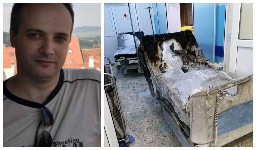 Medicul-erou de la Neamț este intubat, cu arsuri pe 70% din corp. Primele 3 zile, critice - Surse