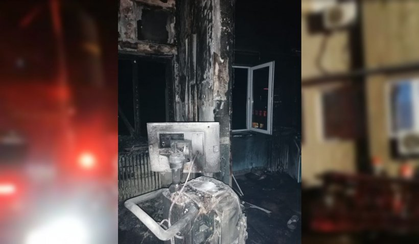 Procurorii au început audierile în cazul incendiului de la Spitalul Judeţean Piatra Neamţ. Au fost efectuate primele autopsii
