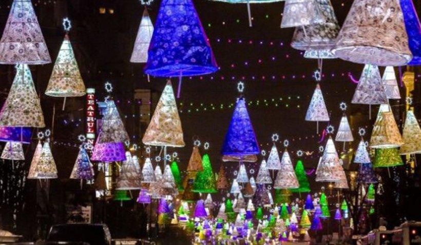 Fără luminiţe de Crăciun într-un sector din Bucureşti. Primarul spune că de banii necesari poate face o grădiniţă