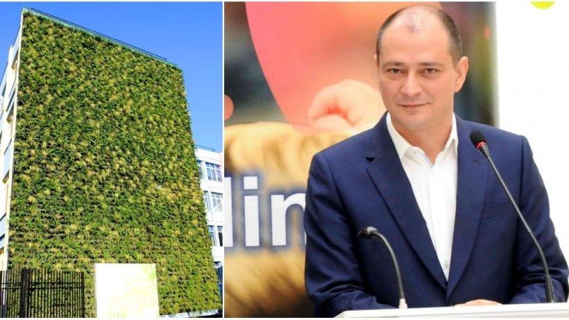 Primarul Daniel Băluţă propune ''Pereţi Verzi'', un proiect inedit pentru reducerea poluării din Bucureşti