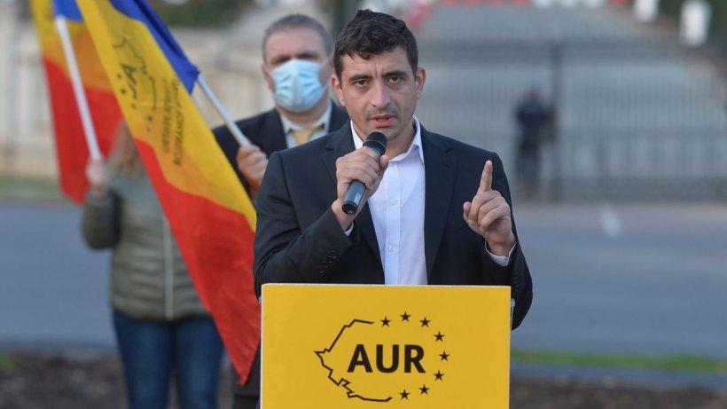 George Simion (AUR): S-ar putea să avem anticipate prezidențiale sau parlamentare