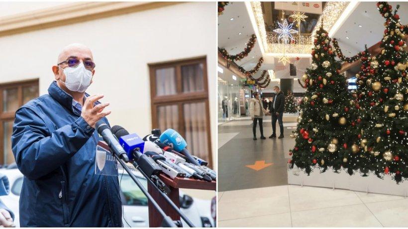Câte persoane pot participa la petrecerile de Crăciun și Revelion. Răspunsul lui Raed Arafat