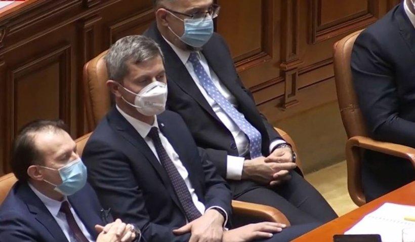 Guvernul Cîţu a fost votat de Parlament