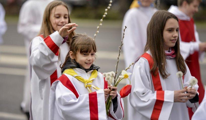 Paştele Catolic din 2021 o să fie sărbătorit în luna aprilie