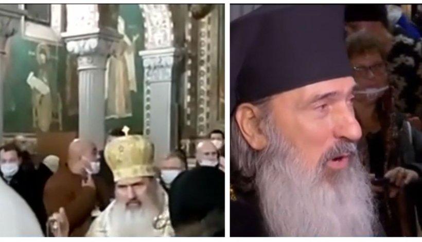 IPS Teodosie a sfidat din nou, de Revelion, autorităţile şi Patriarhia. Reacţia Poliţiei: Scopul nostru nu este de a aplica sancțiuni