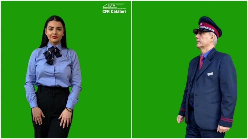 Angajaţii CFR Călători vor avea un nou look! Cum vor arăta uniformele