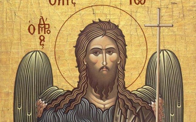 Sfântul Ion. Tradiții și obiceiuri de Sfântul Prooroc Ioan Botezătorul