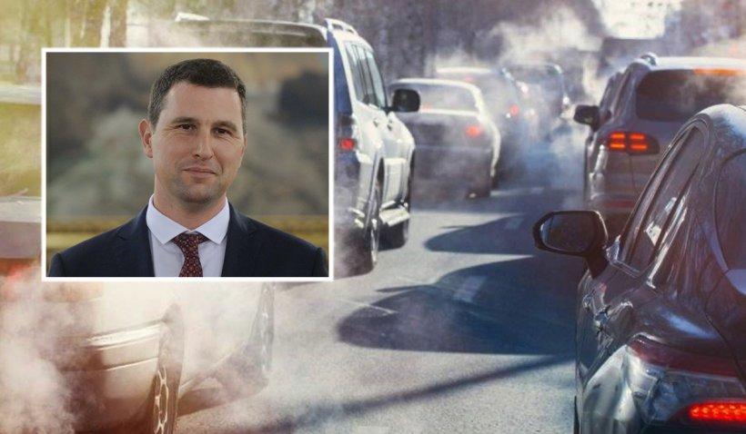 Ministrul Mediului anunţă introducerea unei taxe auto. Variantele luate în calcul pentru reducerea poluării