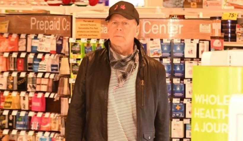 Bruce Willis a fost dat afară dintr-o farmacie după ce a refuzat să poarte mască de protecție