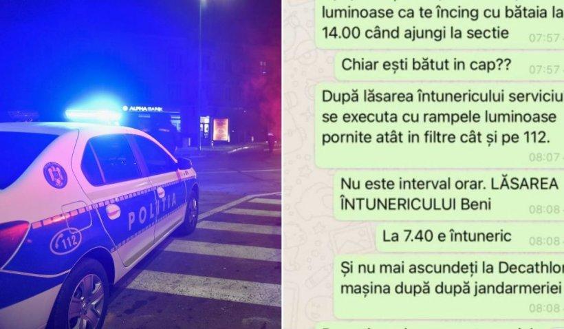 Şeful din Poliţia Timişoara care îşi ameninţa subalternii cu bătaia şi îi înjura şi-a dat demisia